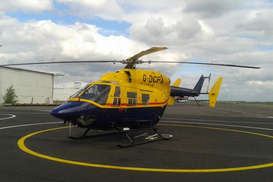 MP Helicopters 1995 BK117 C1 feat